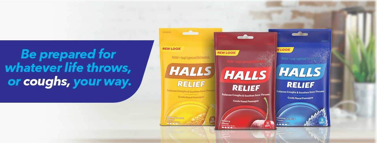 Halls Browse The Halls Family Of Products And Find The Right Halls For You