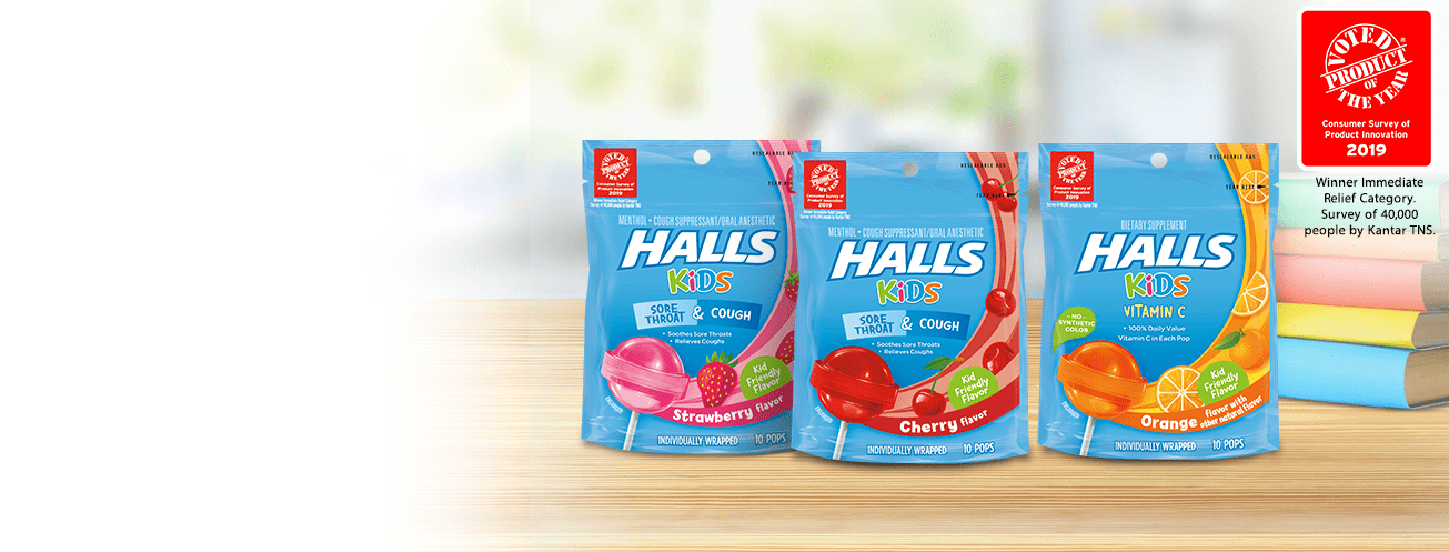 HALLS – Browse the HALLS Family of Products and Find the